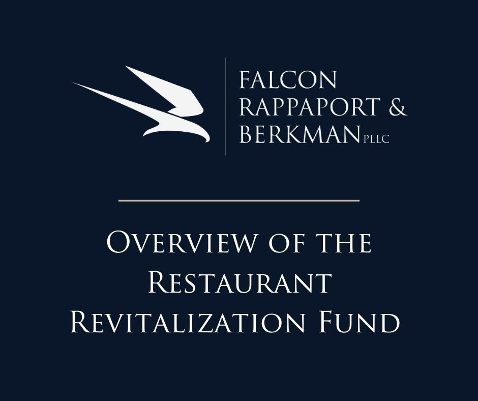 An overview of the Restaurant Revitalization Fund